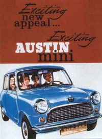 Exciting new appeal... Exciting Austin mini